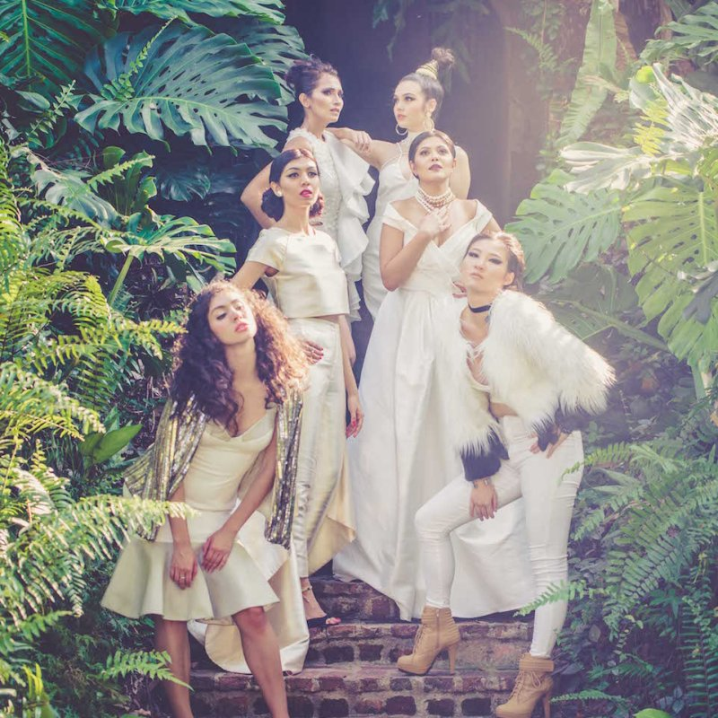 All White Editorial Fashion Makeup by Yue Qi Singapore Makeup Artist