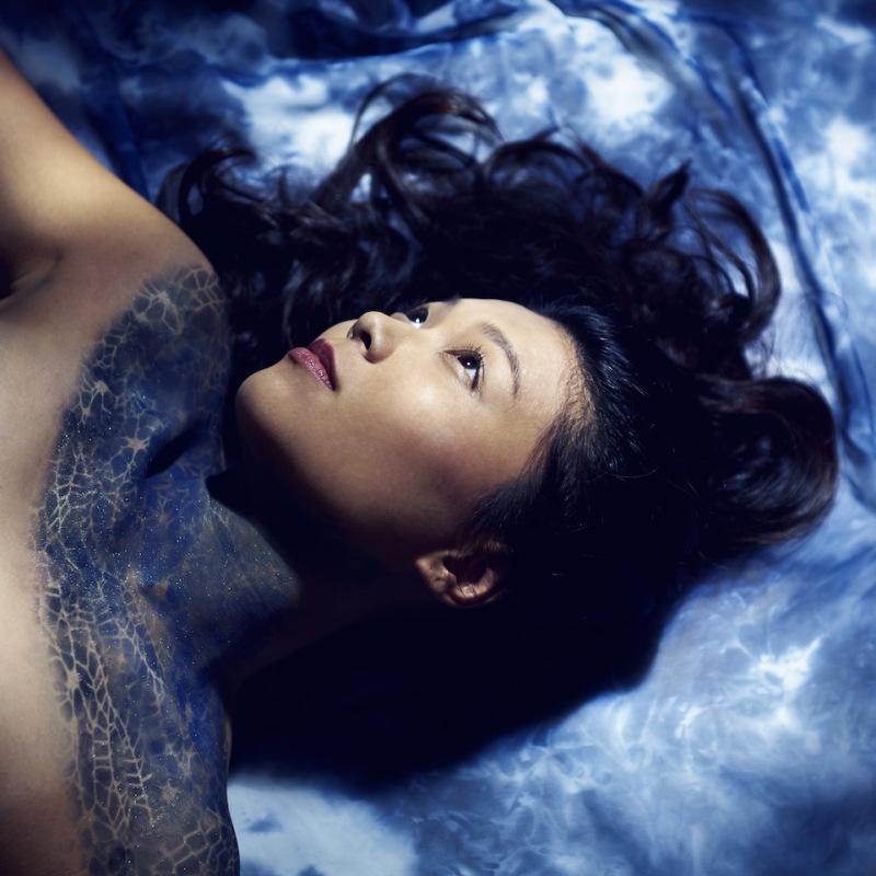 Mermaid Inspired Editorial Shoot Airbrush Makeup by Yue Qi Makeup Artistry