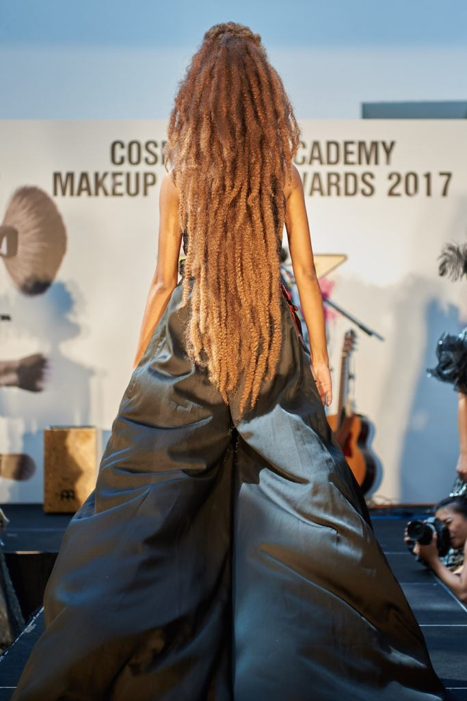 Cosmoprof Academy Makeup Artist Awards 2017 Fashion Winner Yue Qi