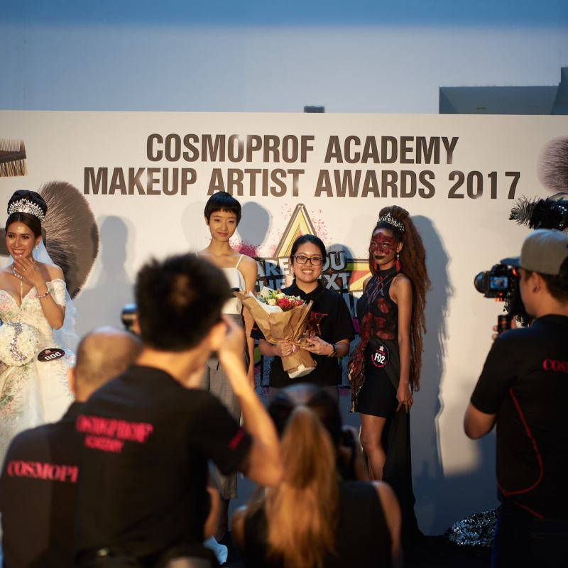 Cosmoprof Academy Makeup Artist Awards 2017 Fashion Winner Yue Qi