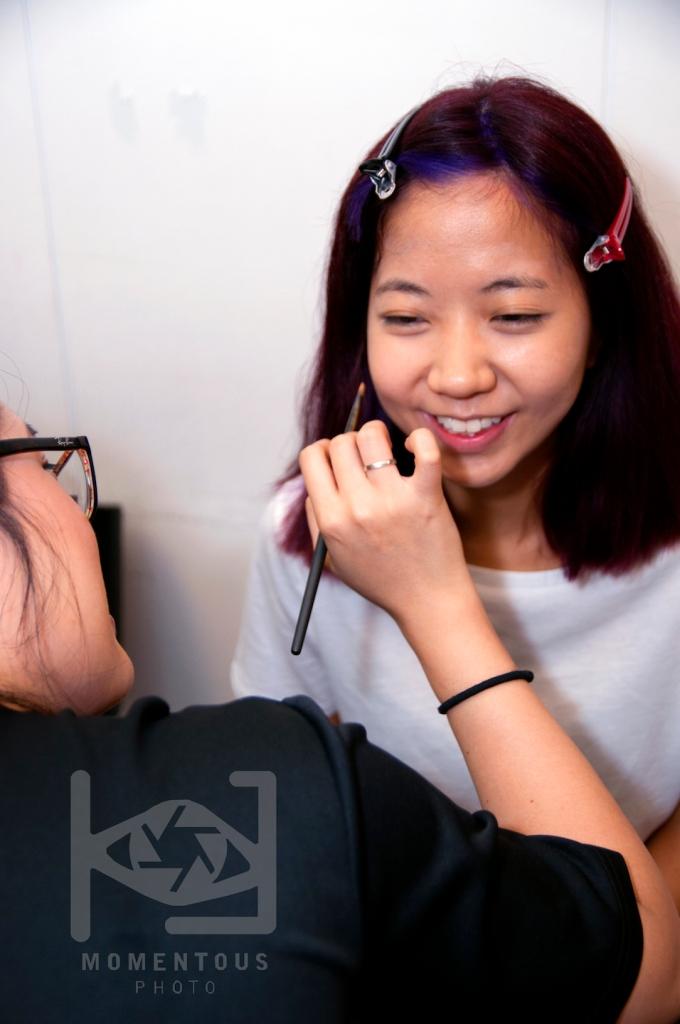 TONI&GUY Hair Show Makeup