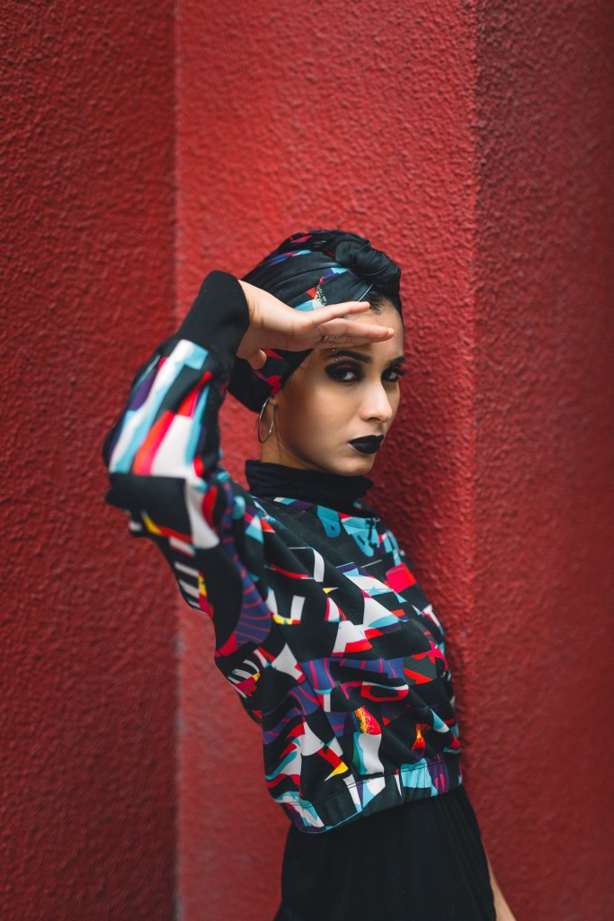 RGB Editorial Makeup by Yue Qi