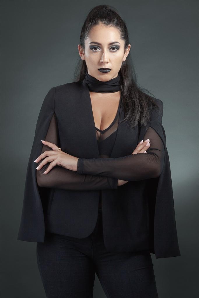 Halimah Fashion Editorial Shoot Makeup by Yue Qi